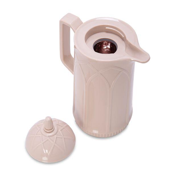 Dallety Plastic Vacuum Flask Beige image number 1