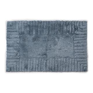 Cottage Cotton Bathmat Line Grey