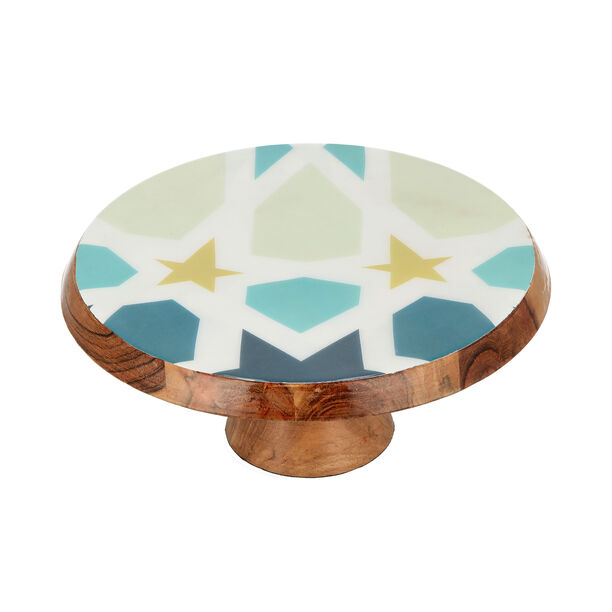 Arabesque Cake Stand With Cake Lifter image number 3
