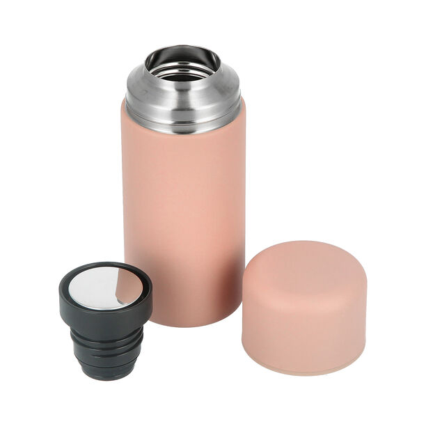 Thermo Bottle 350Ml Stainless Pink image number 2