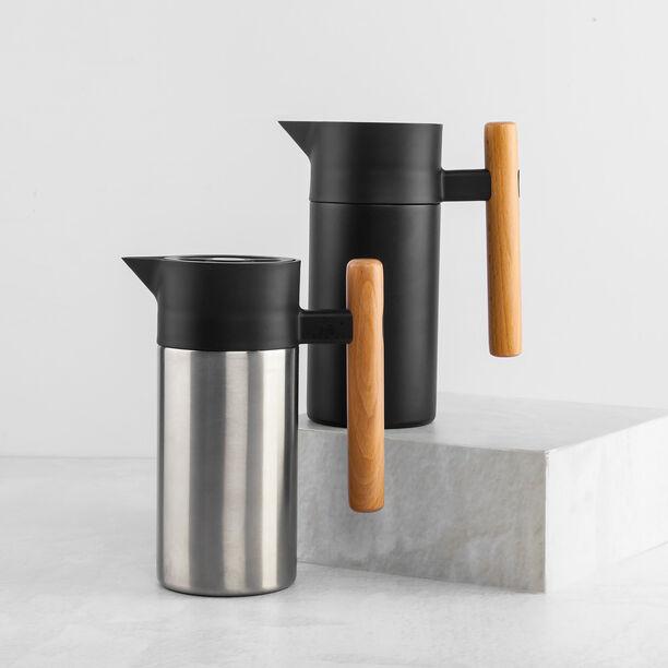 Stainless Steel Coffee Jug Black image number 2