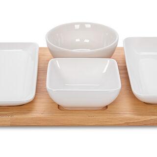 مجموعة أطباق تقديم 5 قطع