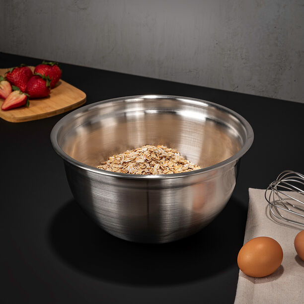 Stainless Steel Mixing Bowl Dia: 25 Cm image number 0