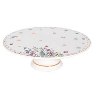 Porcelain Cake Stand Butterfly