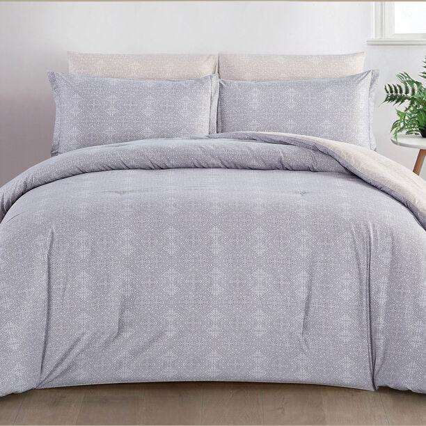 6 Pcs Comforter King Size Set Ivy image number 1