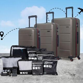 Travel Vision Passport Bag Light Grey