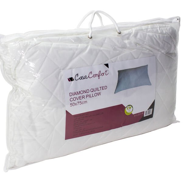 DiamondQuiltedCover Pillow image number 2