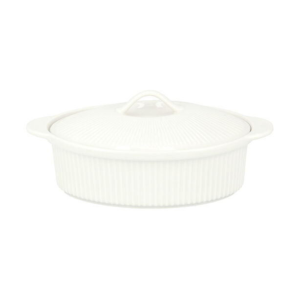 Oval Casserole With Ceramic Lid image number 1