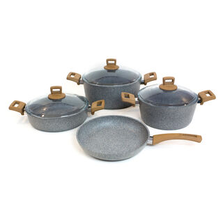 Alberto Granite Cookware Set Of 7 Pieces