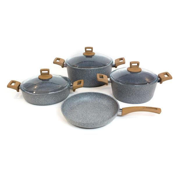 Alberto Granite Cookware Set Of 7 Pieces image number 0