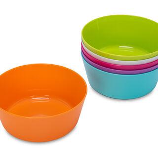 Alberto Plastic Bowls 6 Pieces Set