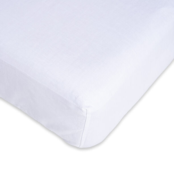 Fitted Sheet White 180*200 Cm image number 2