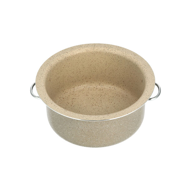 Marble Coating Casserole With Serving Lid image number 1
