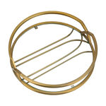 1Pcs Glass And Metal Tray Gold Blushed image number 3