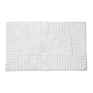 Cottage Cotton Bathmat Line White