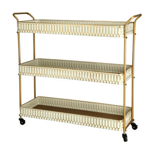 3 Tiered Serving Trolley