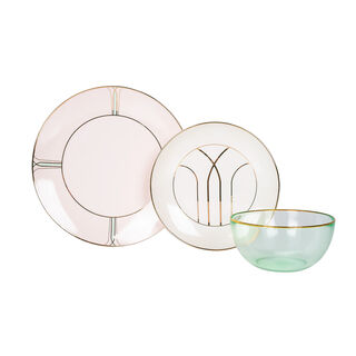Blush 18 Pcs Dinner Set