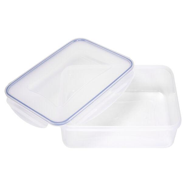Alberto Plastic Food Saver Rect Shape V:3.8L Blue Lid image number 2
