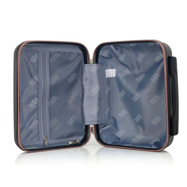 Travel Vision Set Of 4 Butterfly+Vanity Bag Black  image number 10