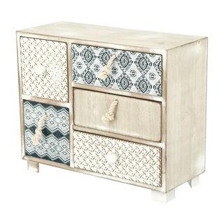 "Decorativ Cabinet ""Blue Fish"""