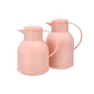 2Pcs Plastic Vacuum Flask Sampa Pink