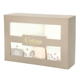 Cottage Cotton Gift Box Ecru