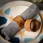 Arabesque Napkin Ring Set Of 4 In image number 0
