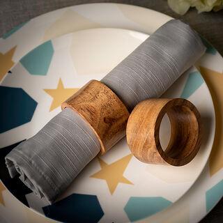 Arabesque Napkin Ring Set Of 4 In