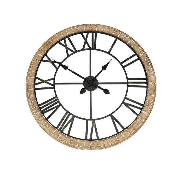 ساعة حائط لون أبيض image number 1