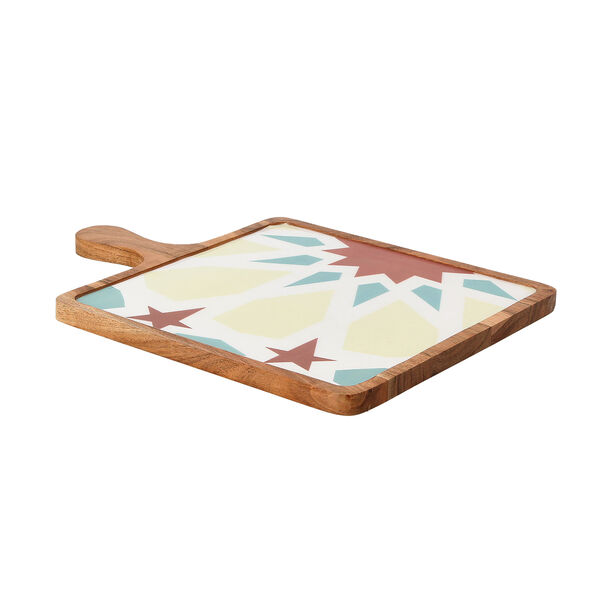 Arabesque Square Serving Tray image number 1