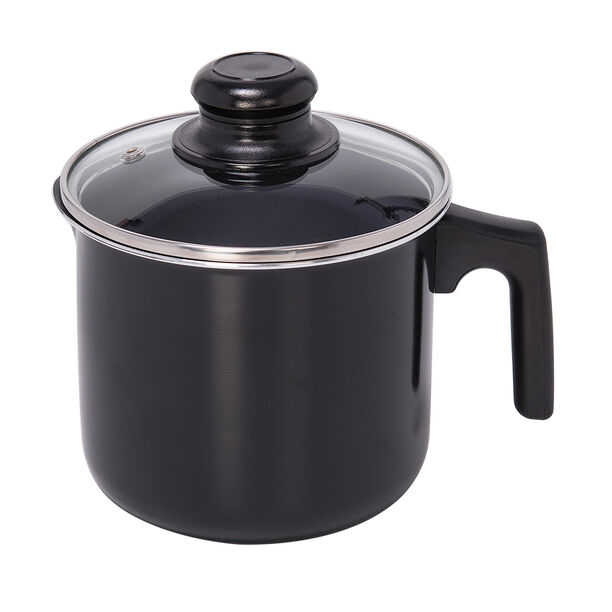 Milk Pot With Glass Lid image number 0