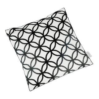 Embroidery Cushion Santorini Circles