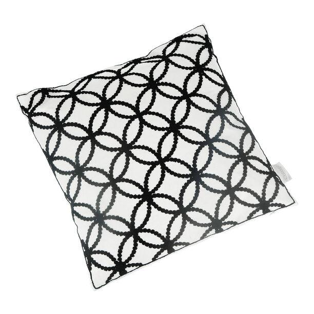 Embroidery Cushion Santorini Circles image number 0