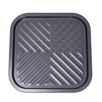 Betty Crocker Non Stick Square French Fries Tray, Grey Color  image number 0