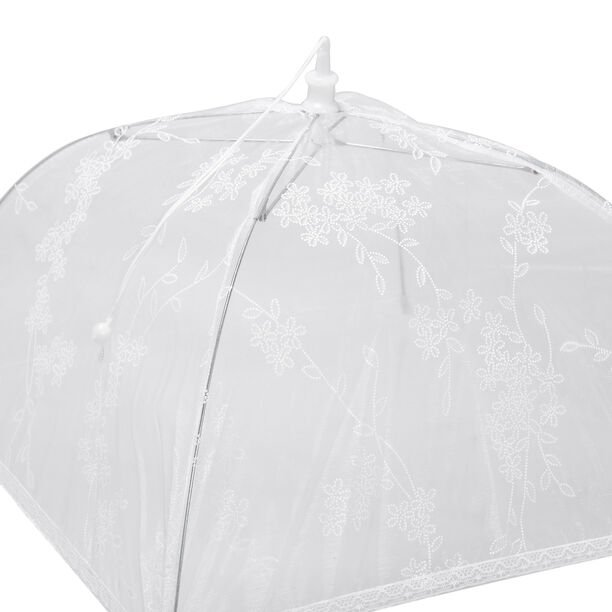 Chef Classics Foldable White Food Cover Prints image number 2