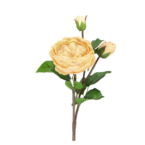 Artificial Flower Rose Champagne image number 0