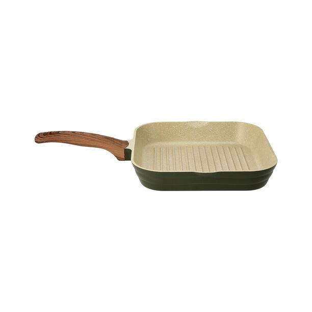 Cast Alu. Ceramic Grill Pan 28Cm Olive Marble image number 1