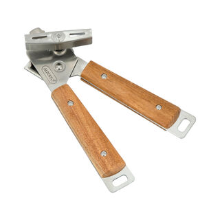 Alberto Can Opener With Wooden Handle