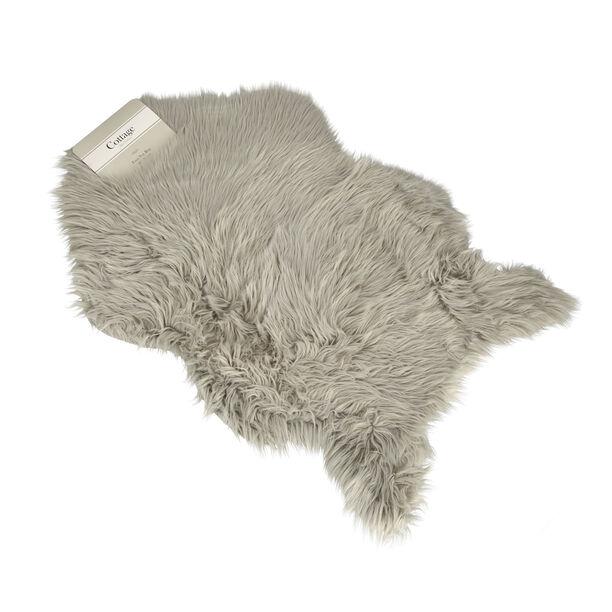 Faux Fur Lt. Grey image number 1