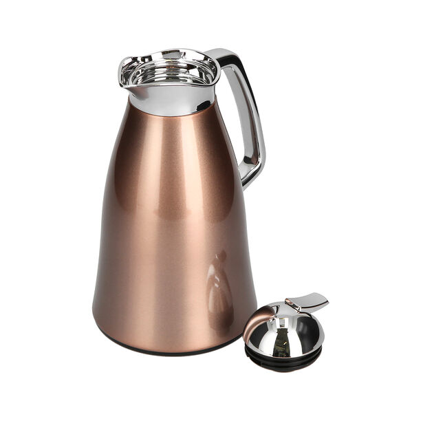 Vacuum Flask Chrome And Rose Gold 1L image number 2