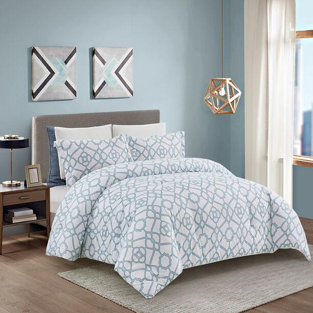 Comforter King Size 6 Pcs Set Tellini Pastel image number 0