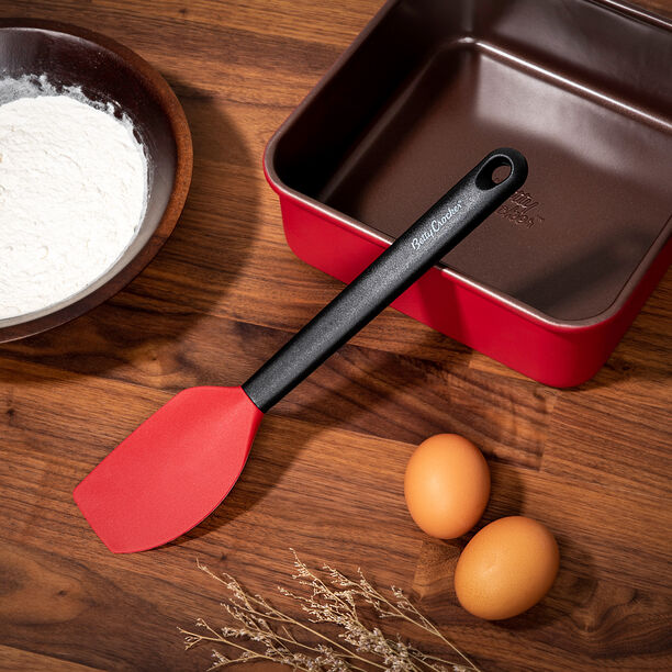 Betty Crocker Silicone Spatula With Grip Handle image number 0