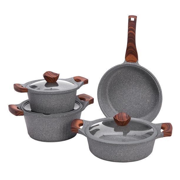 Alberto Yeni Granit 7Pcs Cookware Granistone image number 1