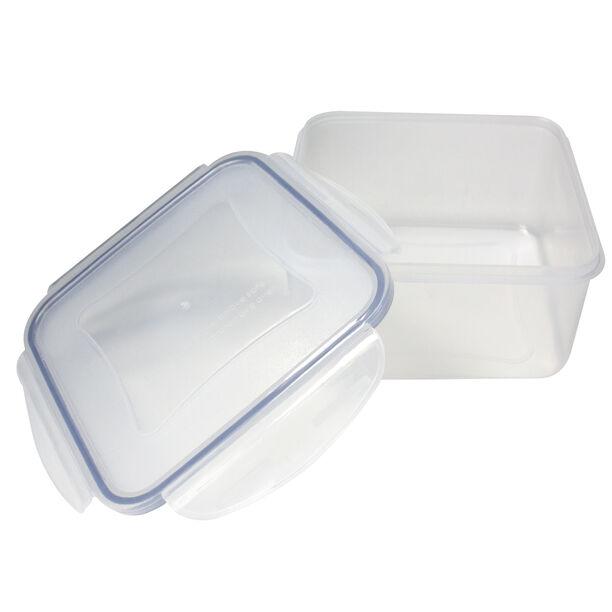 حافظة طعام بلاستيك مربعة سعة 1.2 لتر من البرتو image number 1