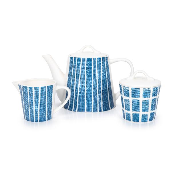 English Tea Set 7Pc Navy Carnival image number 2