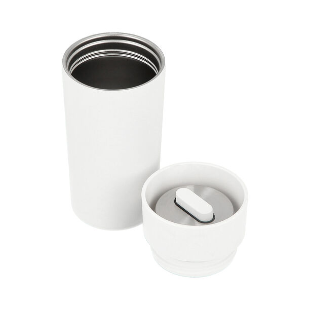 Thermo Mug Inclination 350Ml Stainless White image number 2