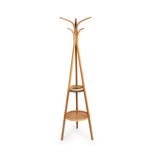 Bamboo Coat Stand