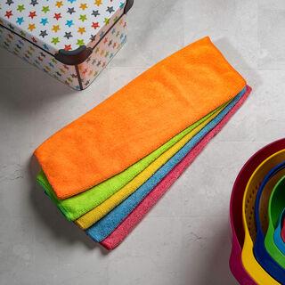 5 Pisces Microfiber Cleaning Towel Set
