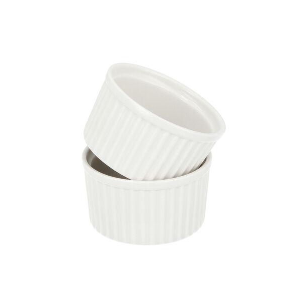 2 Pcs Porcelain Round Ramekin image number 3