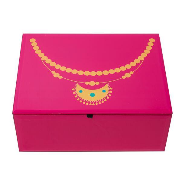 صندوق زجاجي لحفظ المجوهرات  image number 1